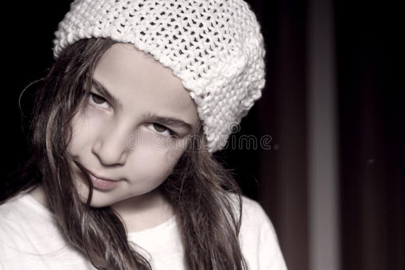 Petite femme photo stock