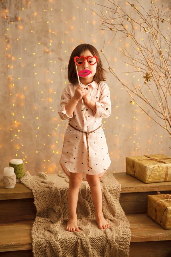 Petite fille élégante image libre de droits