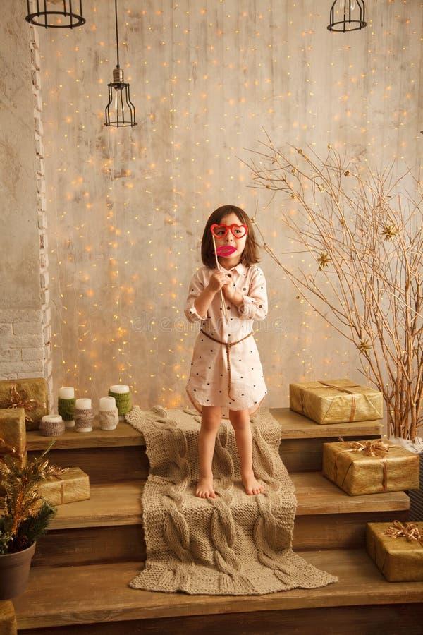 Petite fille élégante photo stock