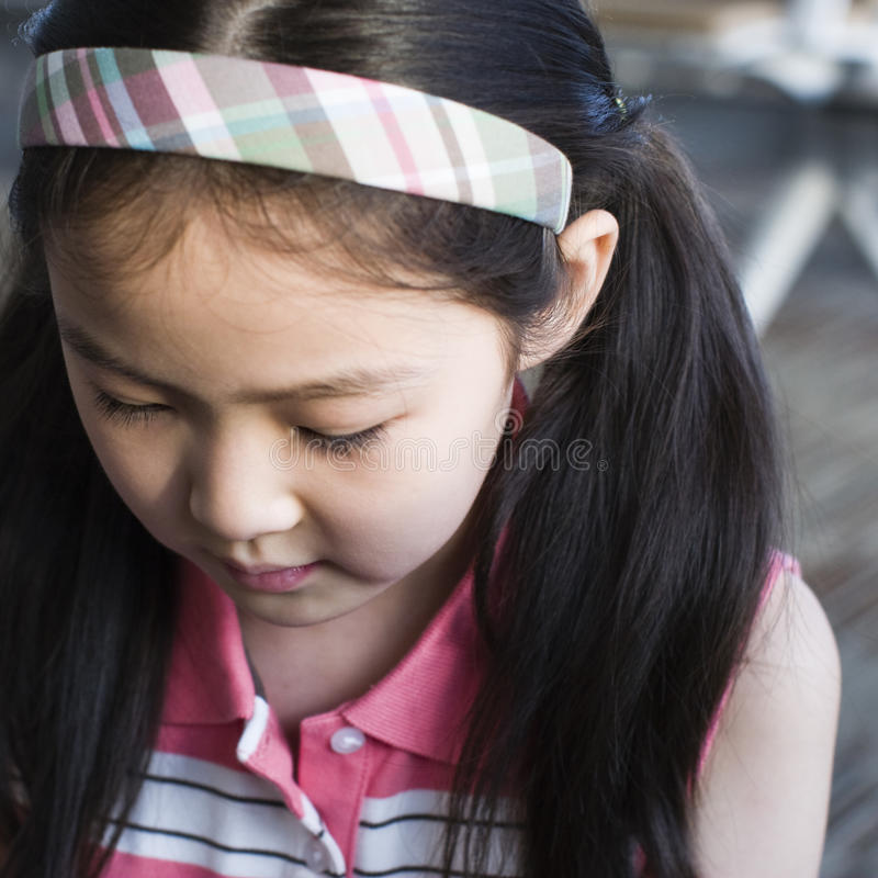 Petite fille photo libre de droits