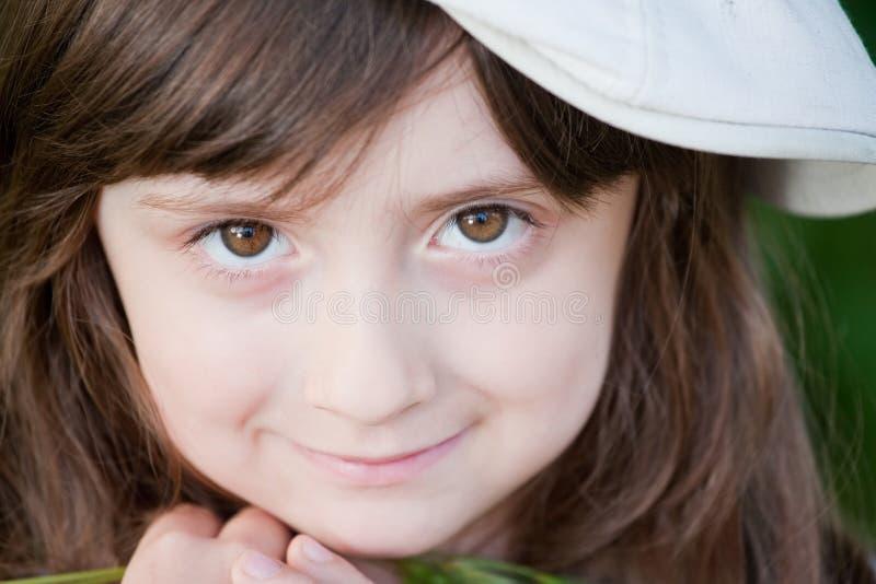 Petite fille adorable image libre de droits