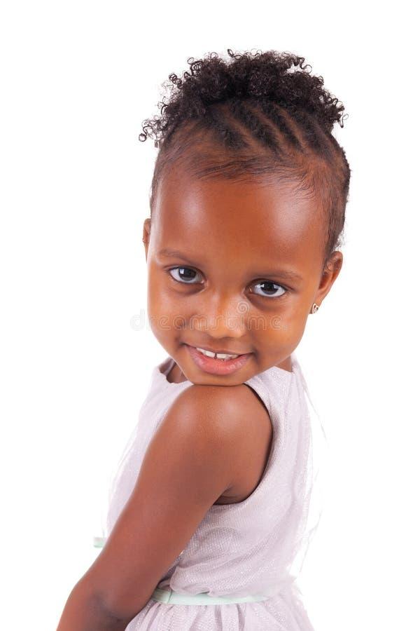 Petite fille africaine adorable images libres de droits