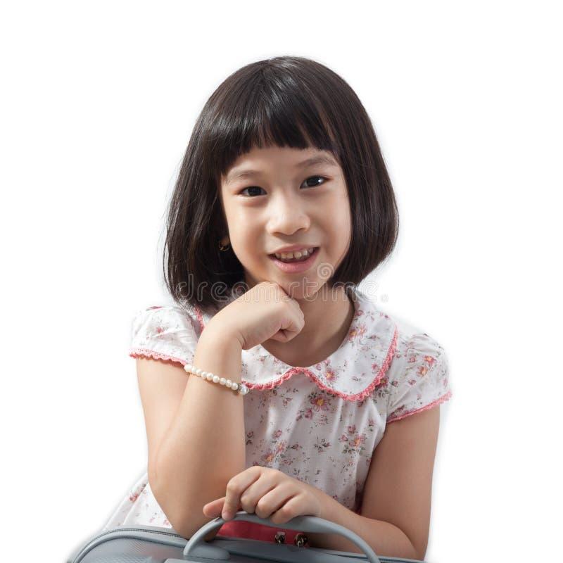 Petite fille asiatique mignonne photos stock