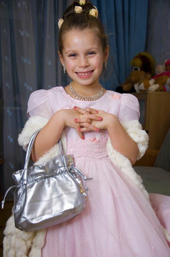 Petite fille assez de sourire photos stock