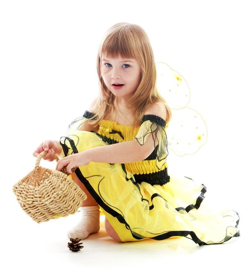 Petite fille avec du charme images stock
