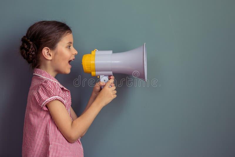 Petite fille avec du charme images libres de droits