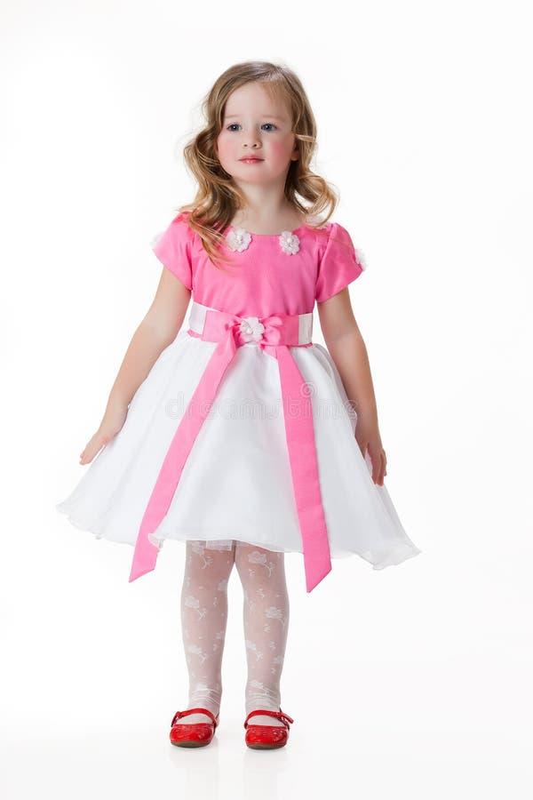Petite fille dans le vêtement de mascarade photos stock