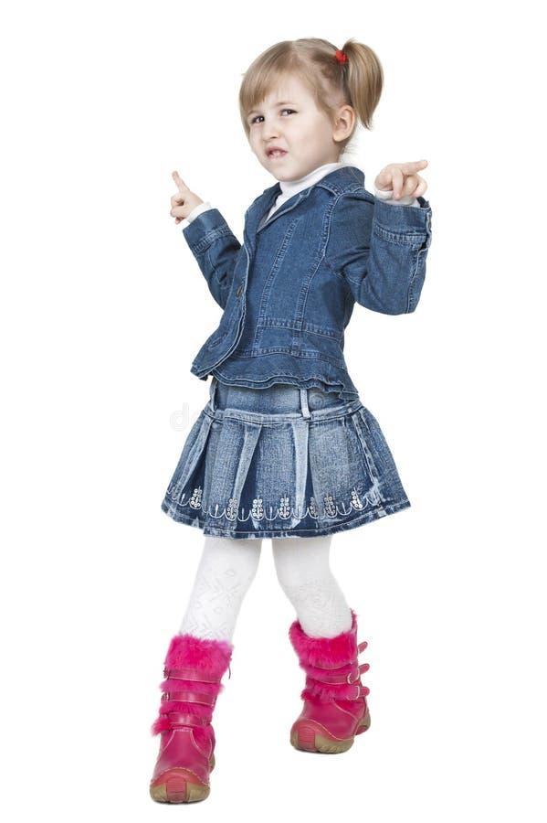 Petite fille de danse photographie stock libre de droits