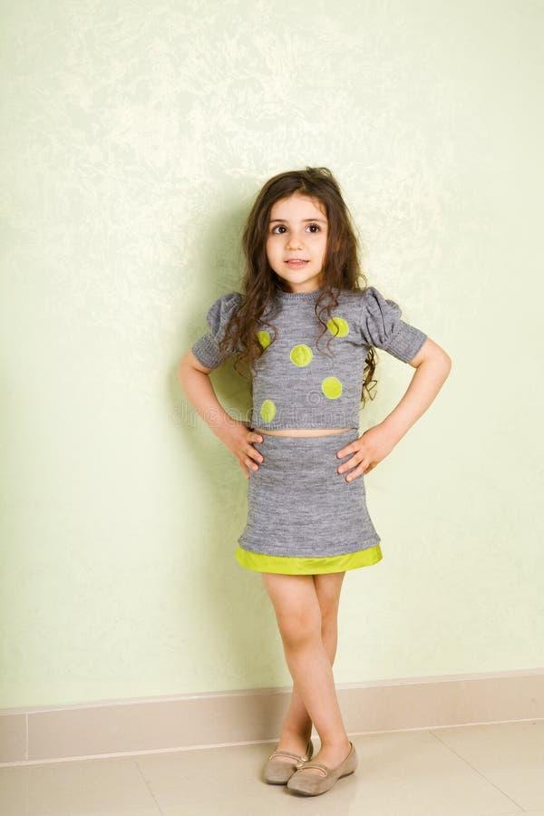 Petite fille de mode images stock