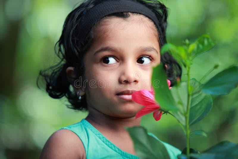 Petite fille de sourire photos libres de droits