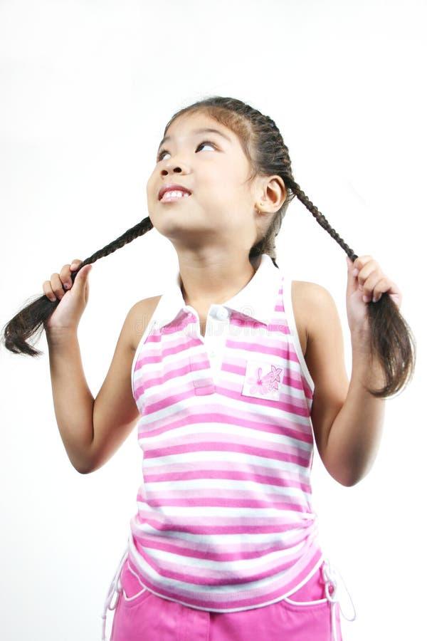 Petite Fille Mignonne 87 Images libres de droits