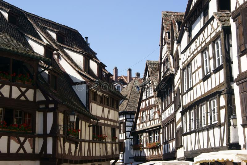 Petite France Strasbourg stock image