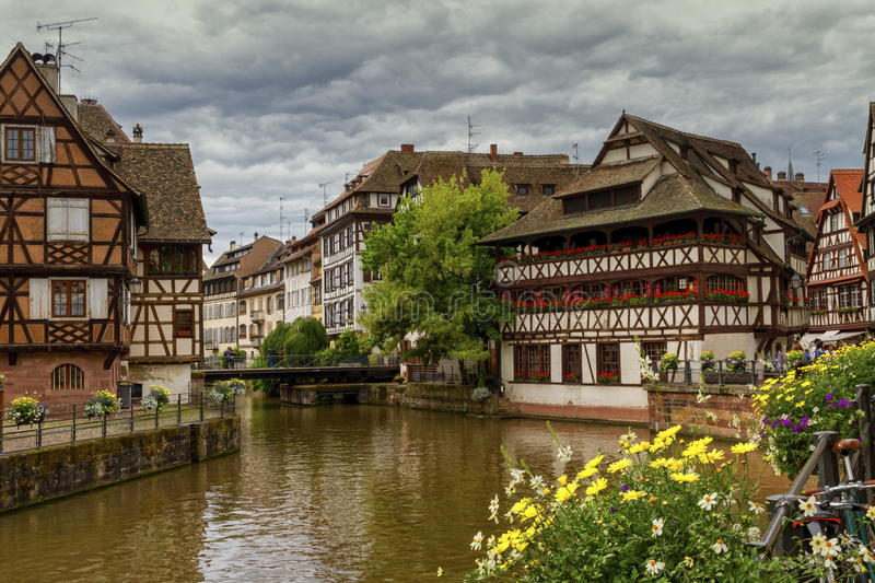 Petite France, Strasbourg royalty free stock photography