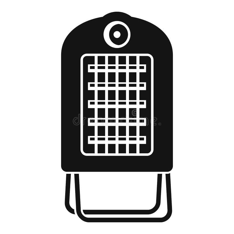 Petite icône chaude de convecteur, style simple illustration de vecteur