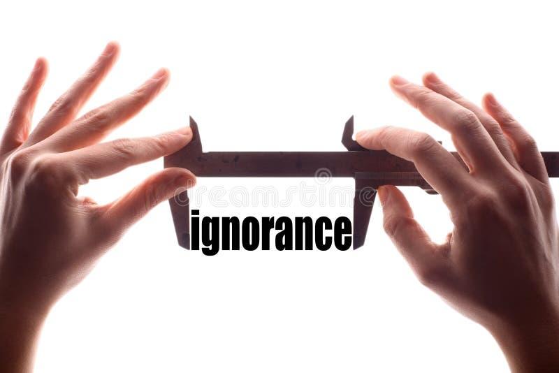 Petite ignorance photos libres de droits