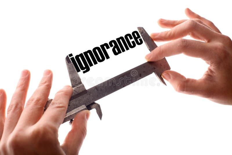 Petite ignorance images libres de droits