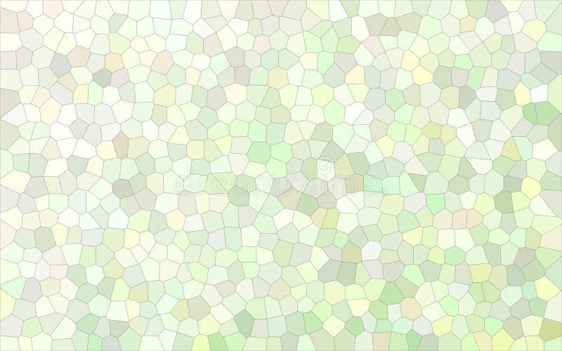 Petite illustration lumineuse gris-clair de fond d'hexagone illustration stock