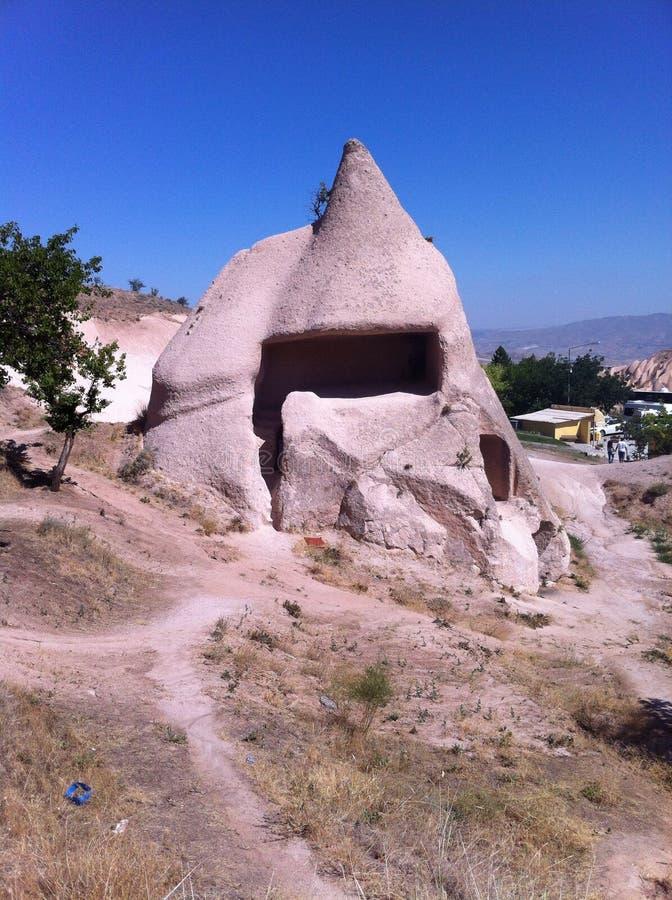 Petite maison en pierre image stock