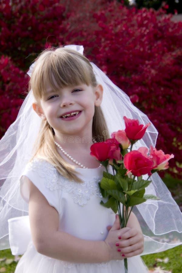 Petite mariée 1 images stock
