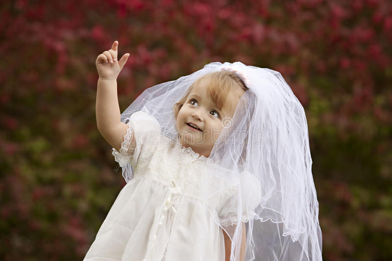 Petite mariée images stock