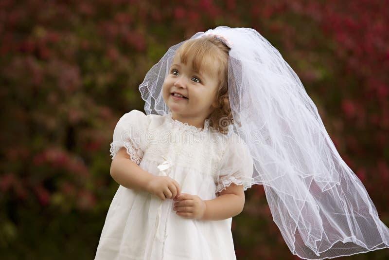 Petite mariée photos stock