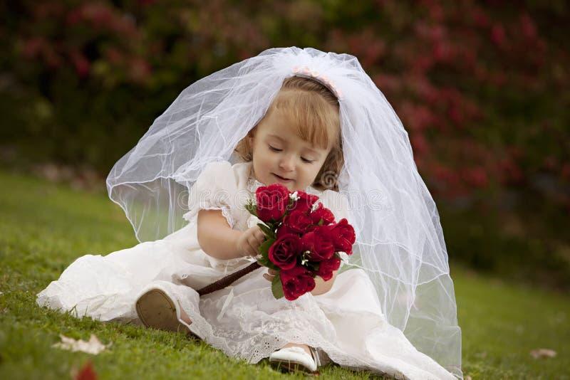 Petite mariée images libres de droits