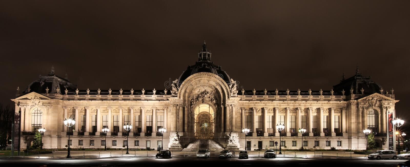 Petite Palace in Paris, France. stock image