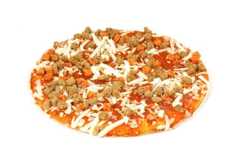 Petite pizza crue image stock