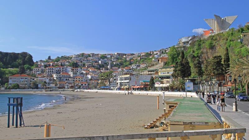 Petite plage Ulcinj photographie stock libre de droits