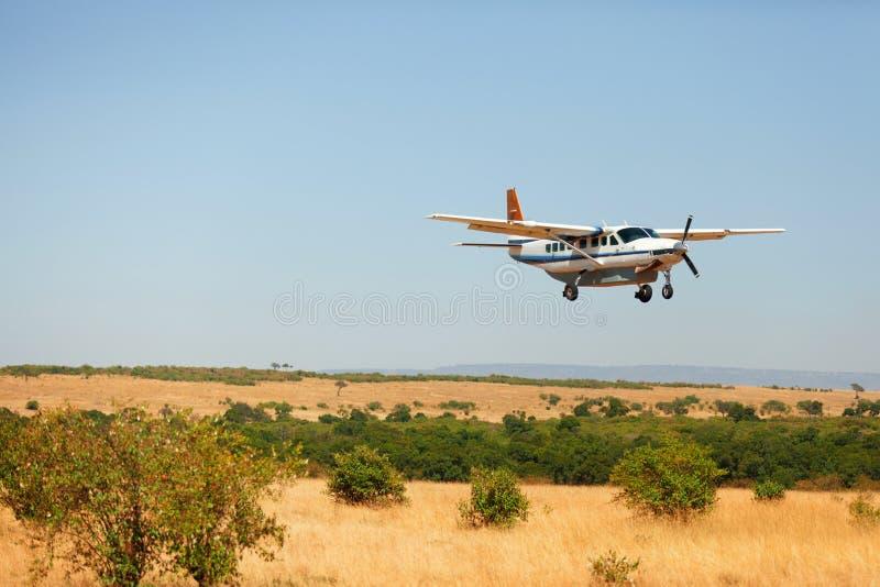 Petite plaine dans le masai Mara photographie stock libre de droits