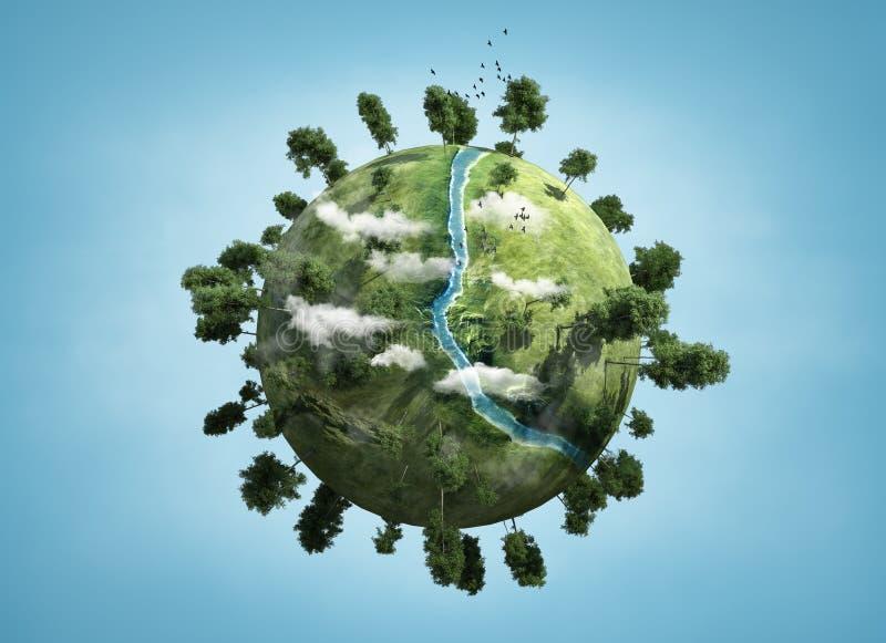 Petite planète illustration stock