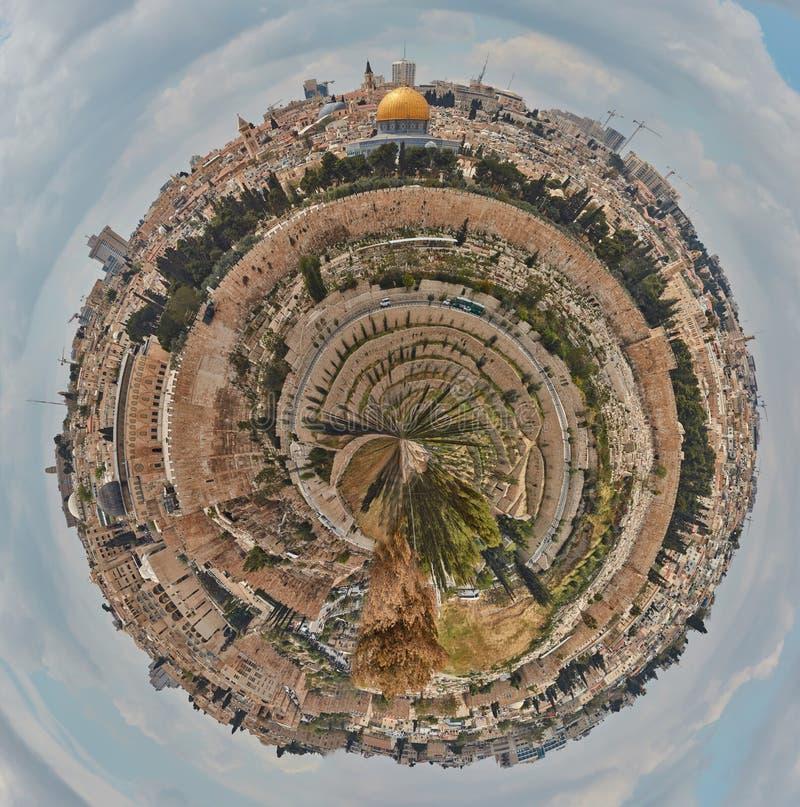 Petite planète de Jérusalem images libres de droits