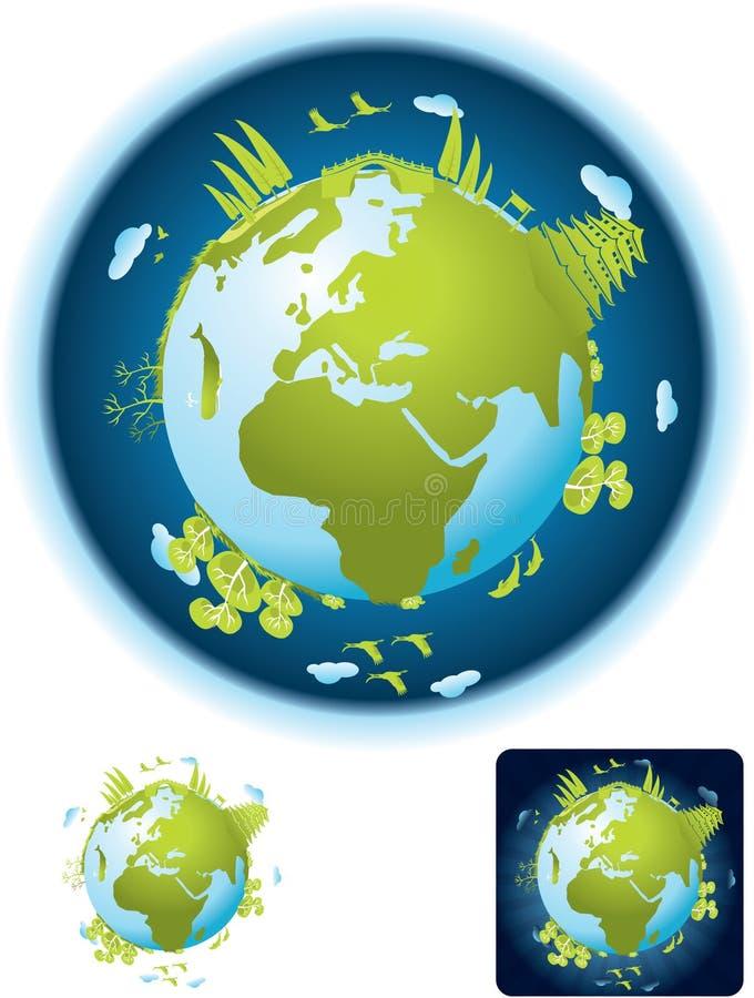 Petite planète verte illustration libre de droits