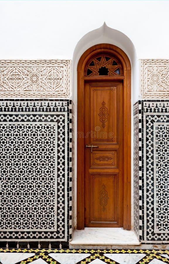 Petite porte marocaine photographie stock