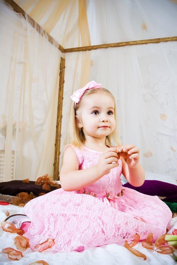 Petite princesse photo stock