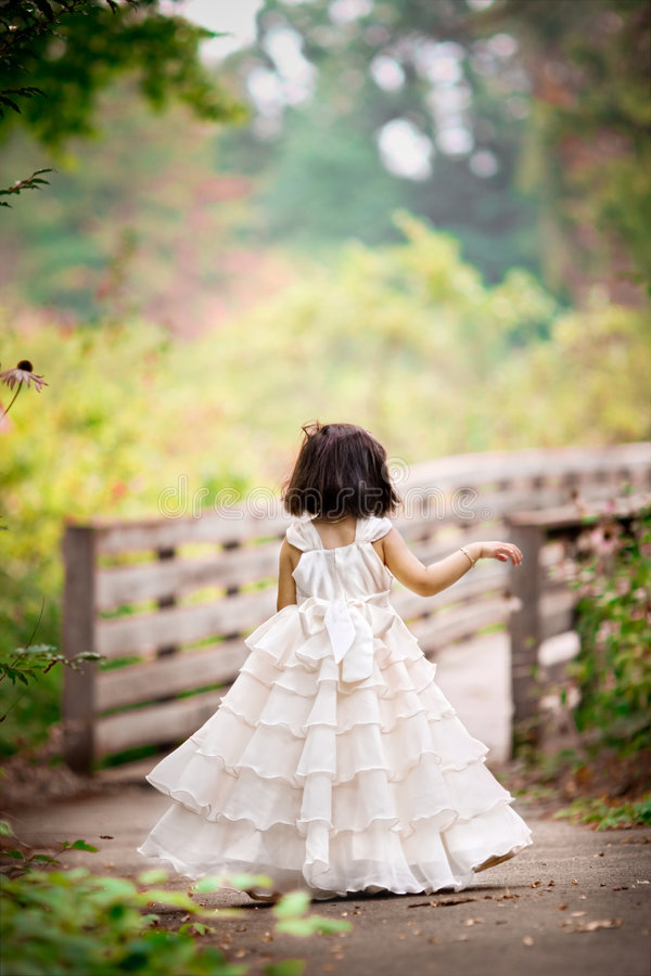 Petite princesse photographie stock
