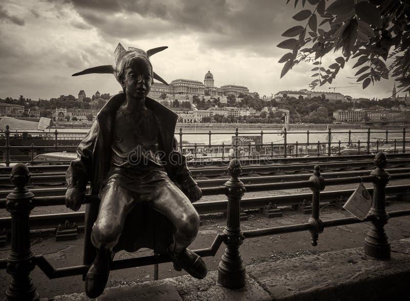 Petite princesse de Budapest photos libres de droits