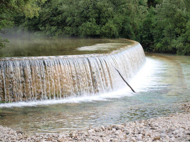 Petite rivière Torre, Tarcento image libre de droits