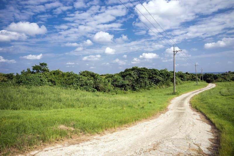 Petite route de enroulement photos libres de droits