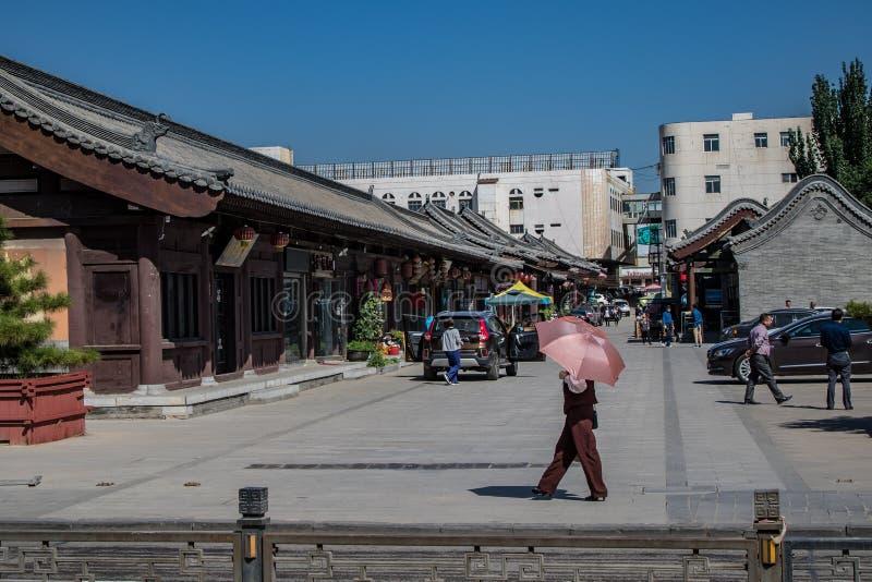 Petite rue de Datong photos libres de droits