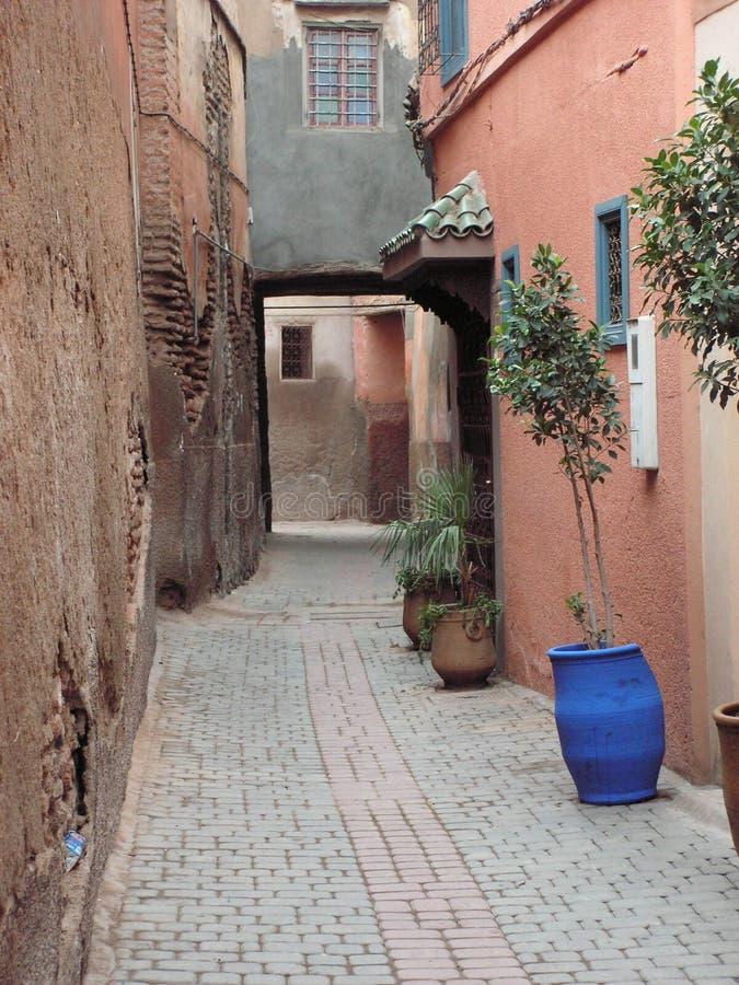 Petite rue tranquille image libre de droits