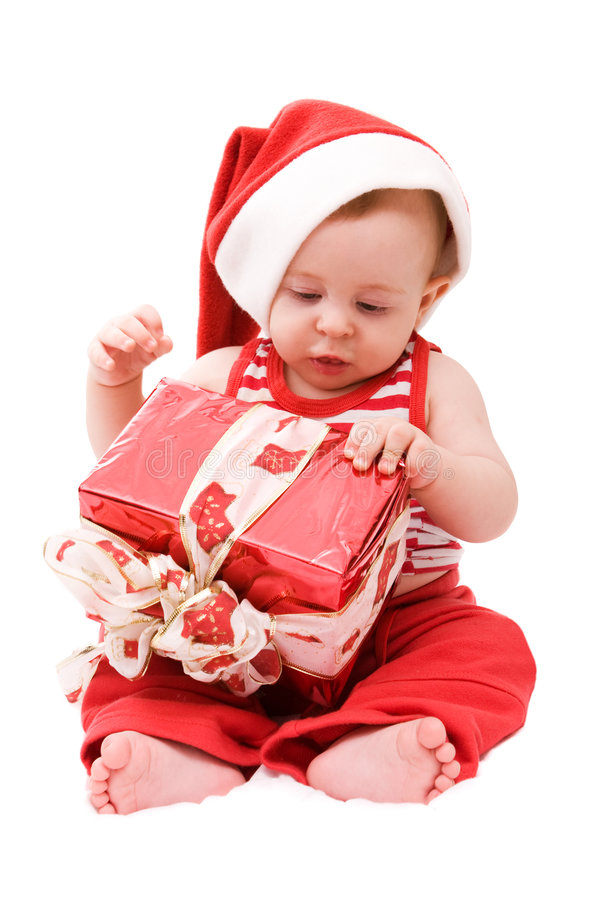 Petite Santa image libre de droits
