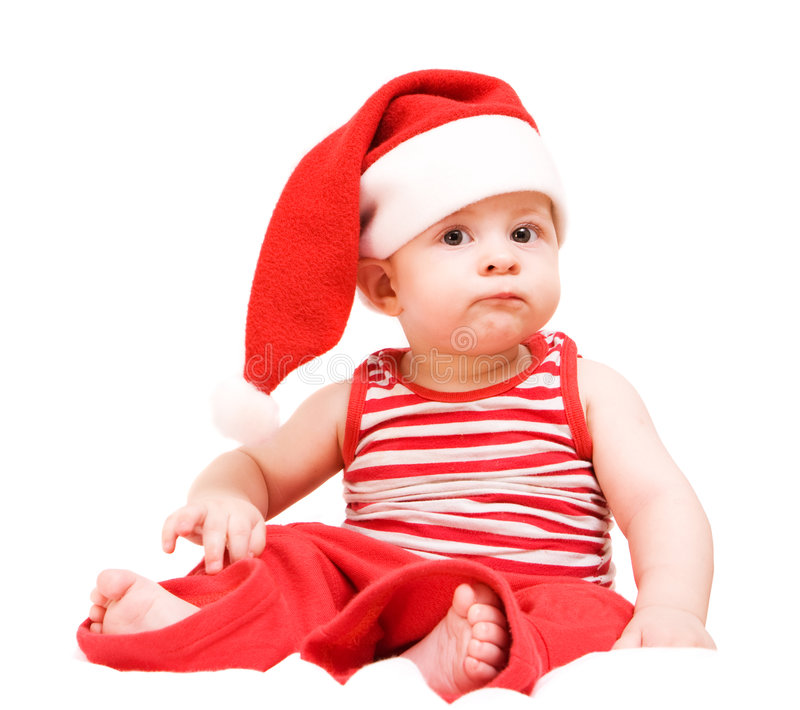 Petite Santa photo stock