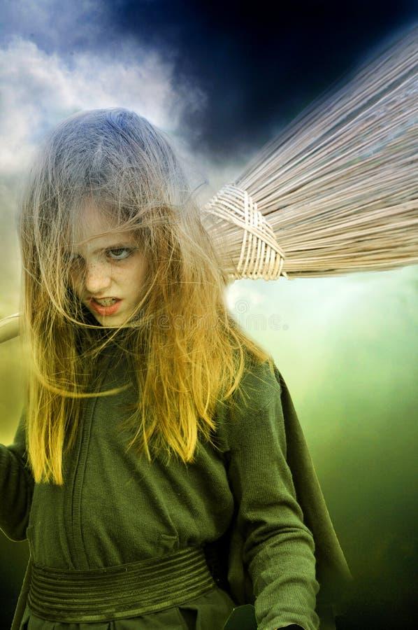 Petite sorcière photographie stock libre de droits