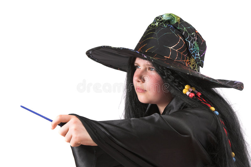Petite sorcière images libres de droits