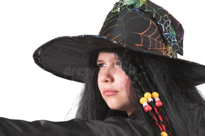 Petite sorcière image stock