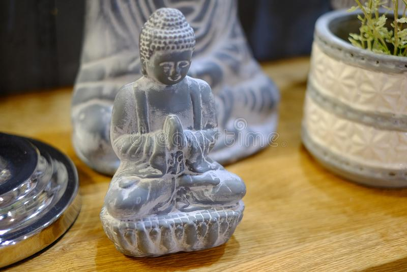 Petite statue de Bouddha images libres de droits