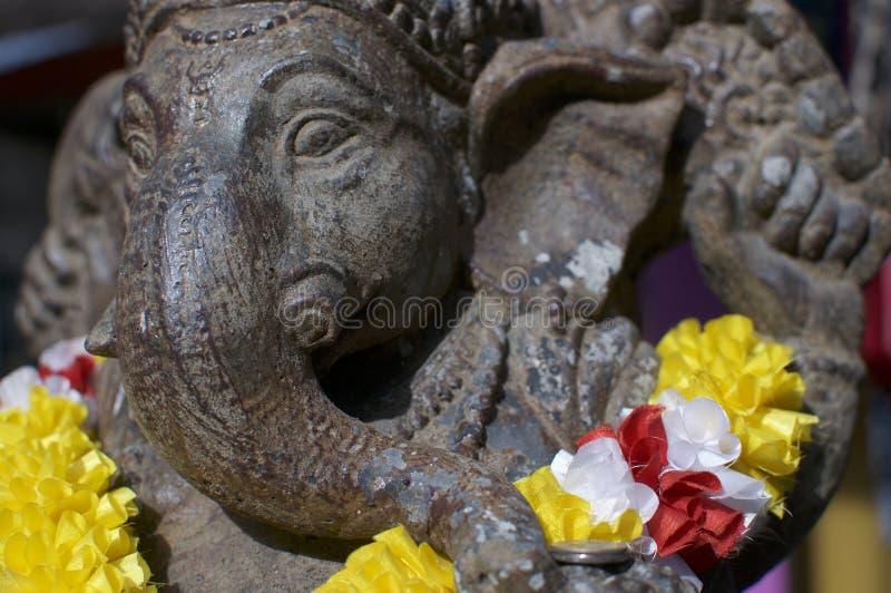 Petite statue en bronze de Ganesha photographie stock