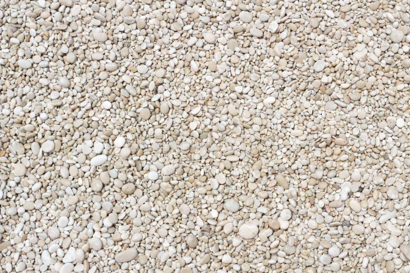 Petite texture douce de cailloux images stock