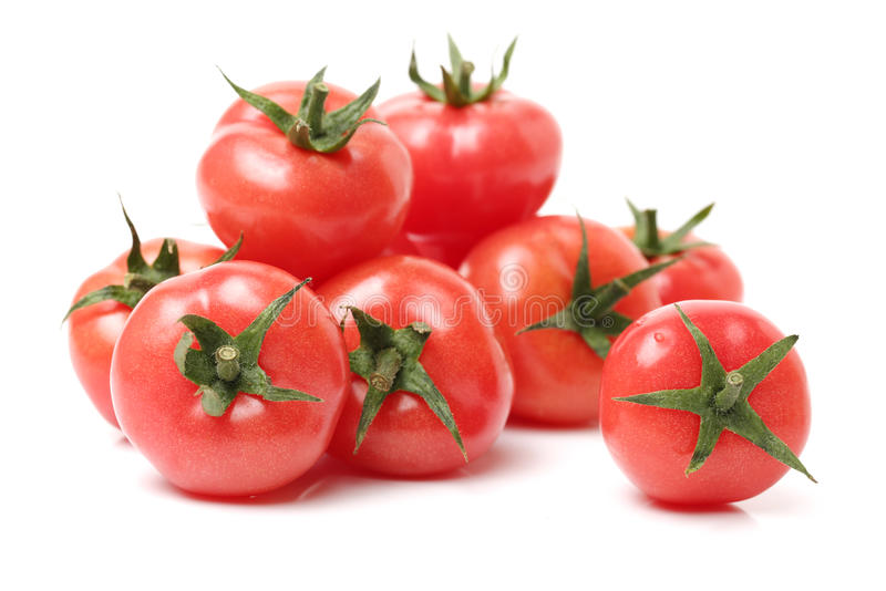 Petite tomate-cerise photo stock